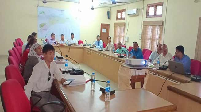 Arunachal:  NERCORMP changlang conducts executive board of management meeting