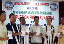 Photo of Itanagar: Tuki gives a clarion call for corruption free Arunachal