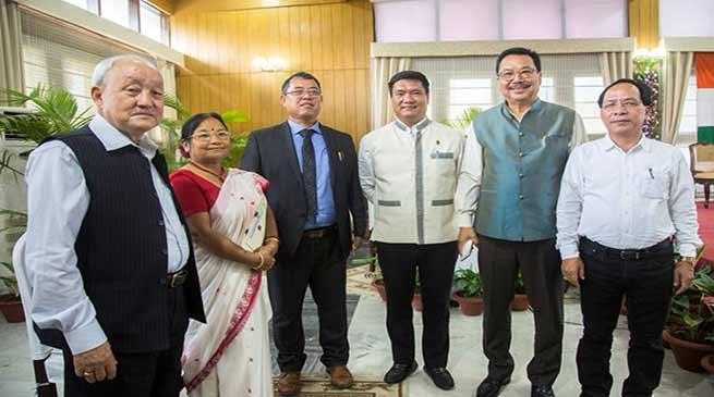 Arunachal: Nipo Nabam sworn-in as the Chairman, APPSC