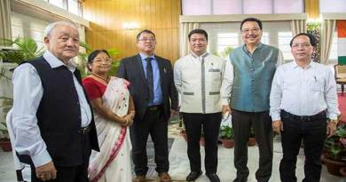 Arunachal:Nipo Nabam sworn-in as the Chairman, APPSC