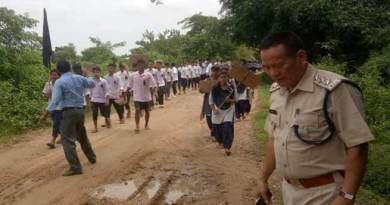 Minor's Rape Case: Protest March in Arunachal-Assam Border