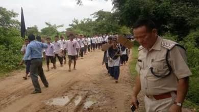 Photo of Minor's Rape Case: Protest March in Arunachal-Assam Border