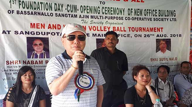 Arunachal: Cooperation of locals needed for development of Sangdupota- Nabam Rebia