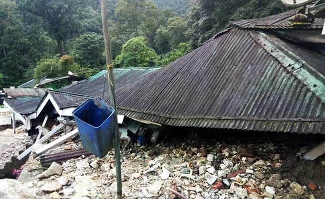Arunachal:  Army transit camp in Sessa washed away by Flash Flood
