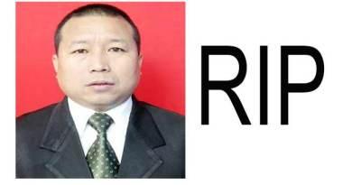 Arunachal: Former APSMPB Vice Chairman Soni Degio Passes away