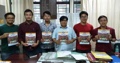 "Arunachal: RGU launches it's magazine ""The Peak"""