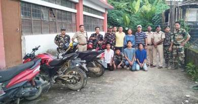 Arunachal:Itanagar police nab five vehicle lifter