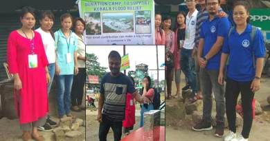 Itanagar: IGSSS organises donation camp for Kerala flood victims