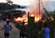 Photo of Itanagar :  Several house gutted in Dokum colony