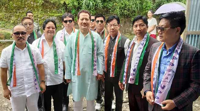 Arunachal: Kabak inaugurates NPP Tirap dist office