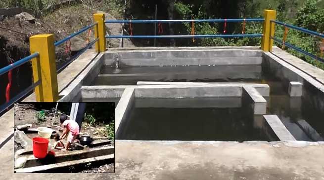 Arunachal: Natung inaugurated the WST in Weshi-II village