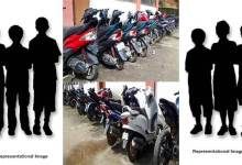 Itanagar: 6 minor apprehended for stealing  two-wheelers in capital complex
