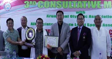 Arunachal: Annual sports-cum-Consultative meeting held