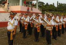 Itanagar: Band display to spread awareness about valiant acts.