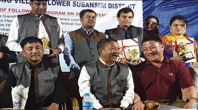 Arunachal: Felix inaugurates slew of CSR initiatives in Hong