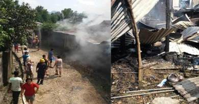 Arunachal: Family left homeless after fire completely destroys their home