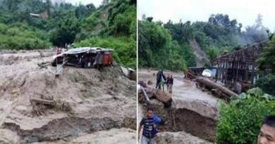 Arunachal: Flash flood, Landslide leave 3 dead, 3 missing in Itanagar