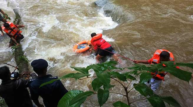Arunachal:NDRF retrieved one dead body from Pare river