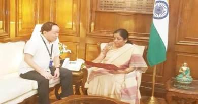 Arunachal: Nabam Rebia meet Nirmala Sitharaman in Delhi