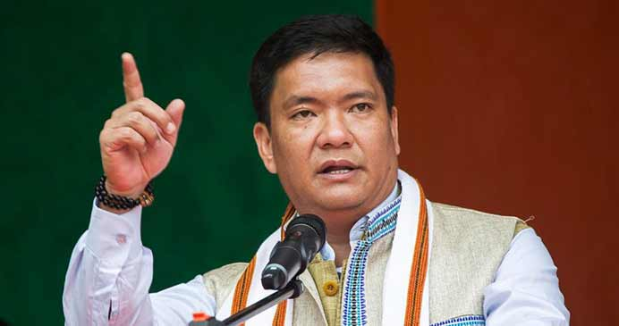 Arunachal: It's time to build new Arunachal under BJP- Pema Khandu