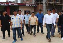 Itanagar: RWD CE inspects under construction model police station