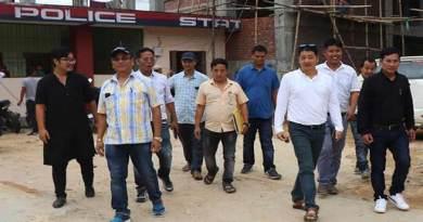Itanagar: RWD CE inspects under construction model police station
