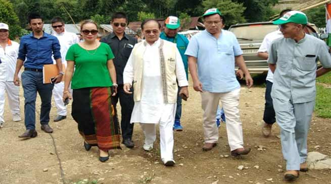 Arunachal: Tuki welcomes Pario and Tado in to Congress