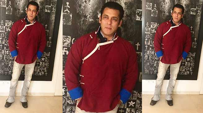 Arunachal: Salman Khan shares picture wearing monpa jacket