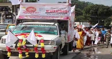 Arunachal: Vihangam Yog Sansthan organises Swarved yatra