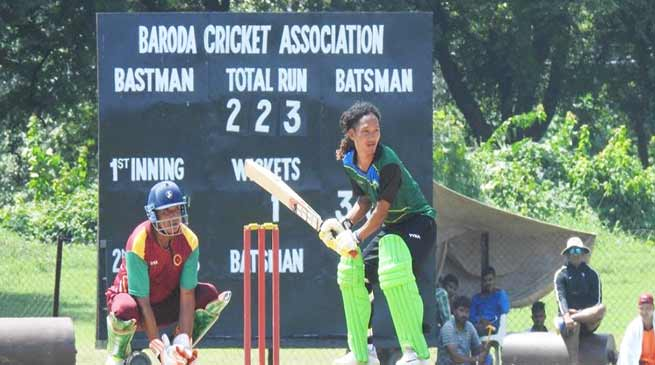 Vijay Hazare Trophy : Techi Doria of Arunachal scored 122