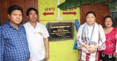 Arunachal: Techi Momta inaugurates community toilet
