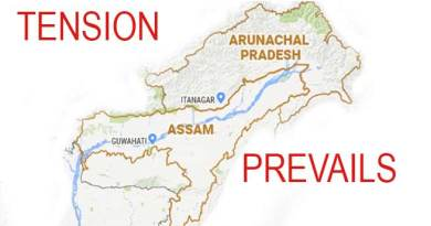 Tension prevails along Arunachal-Assam border