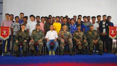 Photo of Arunachal: Army felicitates 41 youths who cleared recruitment test