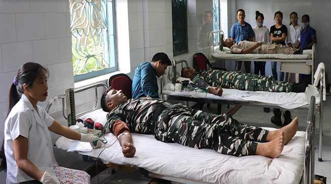 Itanagar: donate blood for welfare of humanity- SP Capital