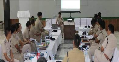 Itanagar:Capital police discusses Law and order