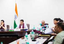 Photo of Arunachal CM holds meeting with officials of Oil Companies