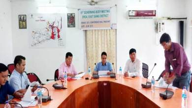 Photo of Arunachal: 51st DRDA Governing Body Meeting of East Siang held