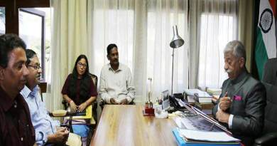 Arunachal:NIT Director calls on the Governor