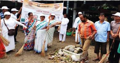 Arunacal:  Prajapati Brahma Kumari carried out social service