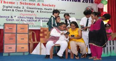 Itanagar: Auxilium Secondary School wins State Level Science Drama Competition
