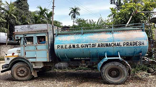 Itanagar:Restoration work of water supply on war footing-Tadar Mangku