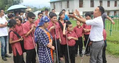 Itanagar: workshop on echolocation for visually impaired persons concludes