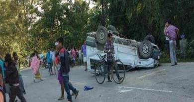 Arunachal: Police van carrying juvenile met an accident, two died, 6 injured.