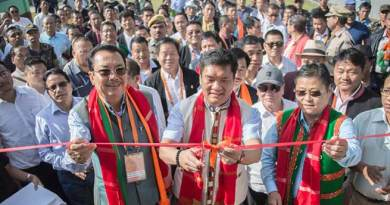 Arunachal CM inaugurates Convention Hall at Mebo