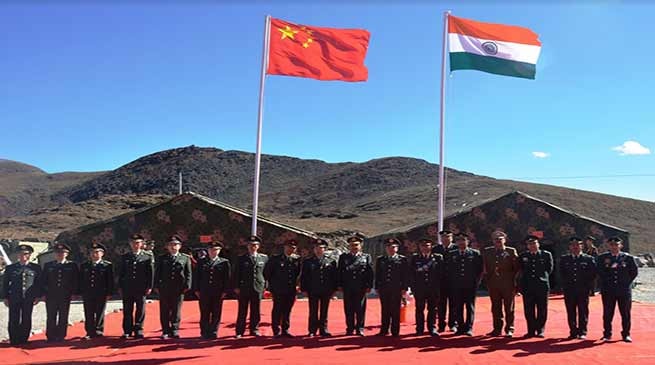 Arunachal:  Border Personnel Meeting held at Indo-China Border in Bumla