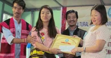 Arunachal: CALSOM felicitates meritorious student