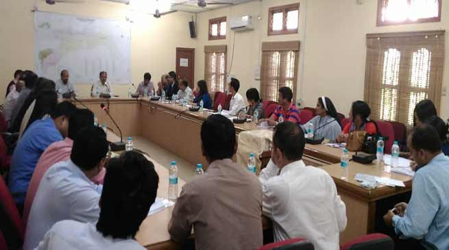 Arunachal: DCC and DLRC meetings held in Changlang