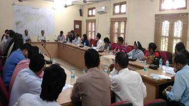 Photo of Arunachal:  DCC and DLRC meetings held in Changlang