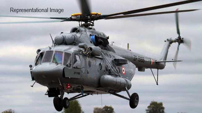 Arunachal: IAF's Mi-17 chopper force-lands in Tuting, all 16 people on board safe