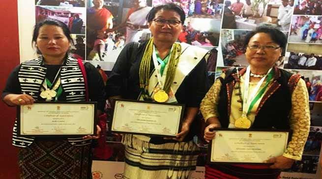 "Arunachal gets three ""National Poshan Awards 2018"""